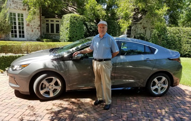 2017 Chevrolet Volt, leased by Phil Ganz of Texas