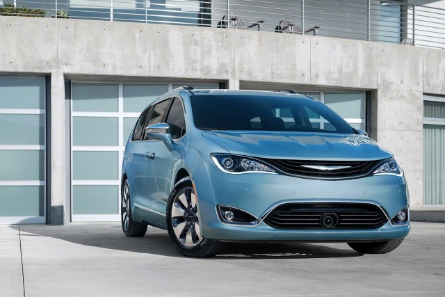 Pacifica Hybrid named most fuel-efficient minivan