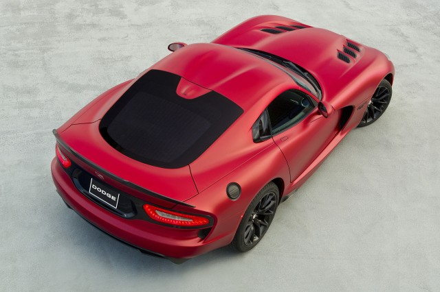 The Dodge Viper Dies on August 31, 2017