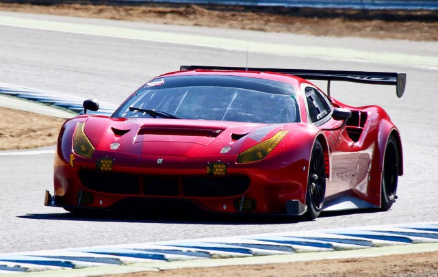2017 Ferrari 488 GT3 race car