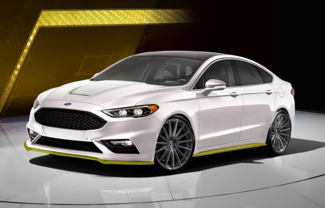 2017 fusion sport to join modified ford fleet at sema. Black Bedroom Furniture Sets. Home Design Ideas