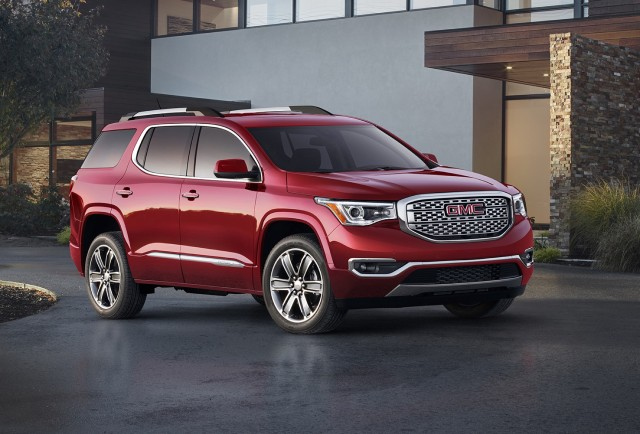 2017 gmc acadia review ratings specs prices and photos the car connection. Black Bedroom Furniture Sets. Home Design Ideas