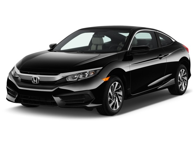 2017 Honda Civic Coupe LX Manual Angular Front Exterior View