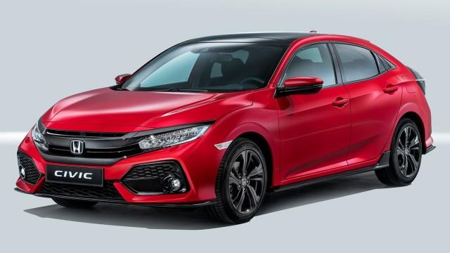 2017 Honda Civic Hatchback (European spec)
