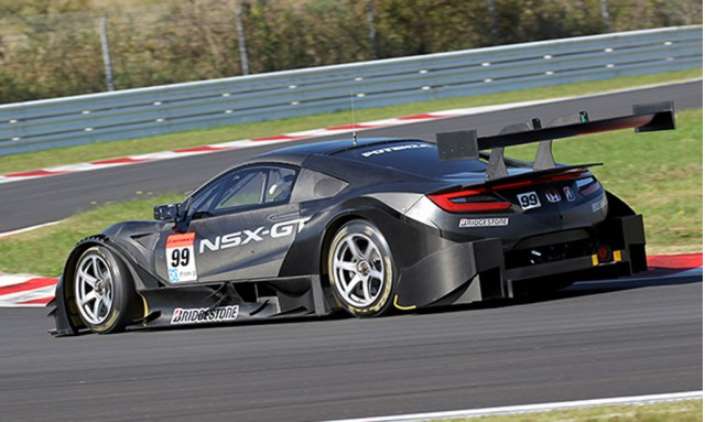 2017 Honda NSX-GT Super GT race car