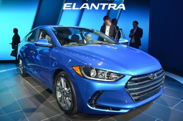 2017 Hyundai Elantra, 2015 Los Angeles Auto Show
