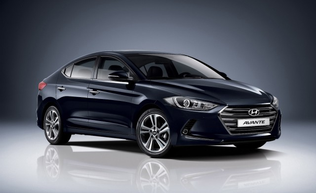 2017 Hyundai Elantra (Korean spec)