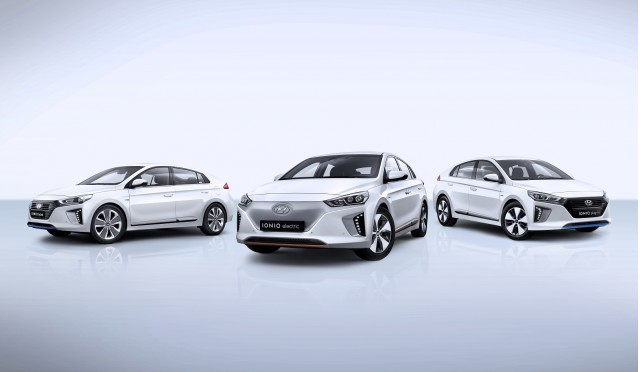 2017 Hyundai Ioniq Hybrid, Ioniq Electric, and Ioniq Plug-In