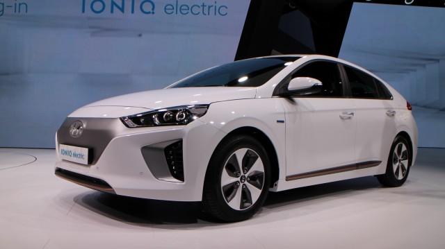 2017 Hyundai Ioniq (European spec), 2016 Geneva Motor Show