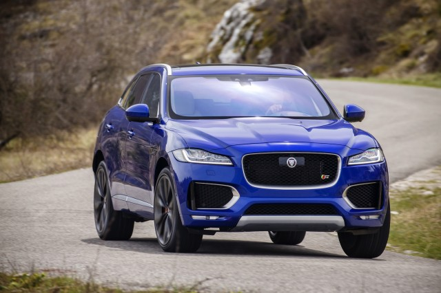 2017 jaguar f pace review ratings specs prices and photos the car connection. Black Bedroom Furniture Sets. Home Design Ideas