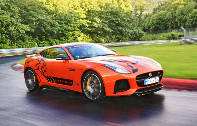 2017 Jaguar F-Type SVR at the Nürburgring