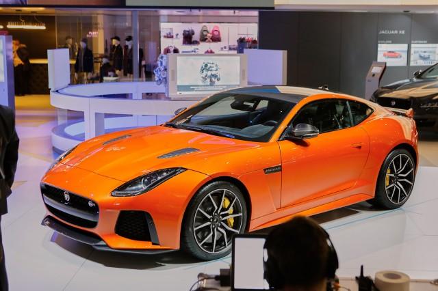 2017 Jaguar F-Type SVR, 2016 Geneva Motor Show