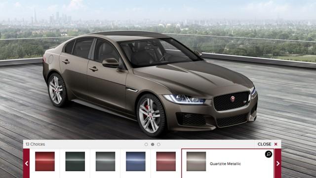 2017 Jaguar XE configurator