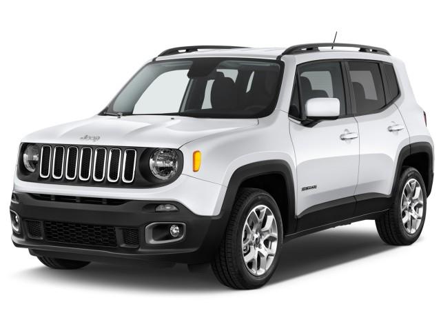 2017 Jeep Renegade Latitude FWD Angular Front Exterior View