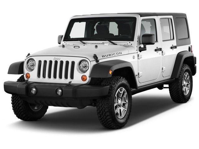 2017 Jeep Wrangler Unlimited Rubicon 4x4 Angular Front Exterior View