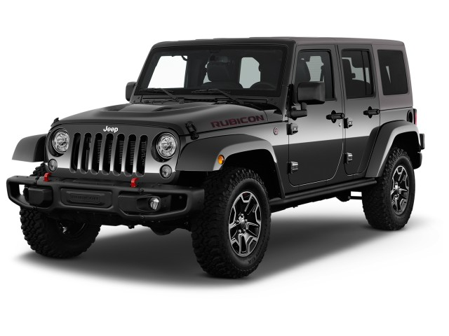 2017 Jeep Wrangler Unlimited Rubicon Hard Rock 4x4 *Ltd Avail* Angular Front Exterior View