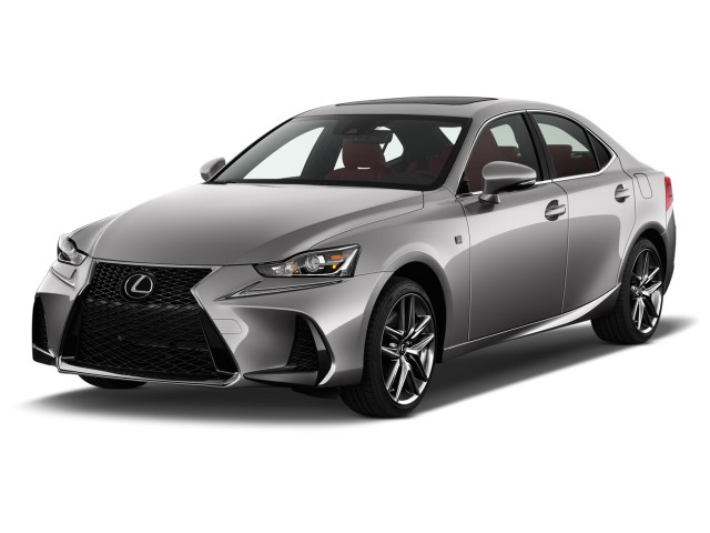 2017 Lexus IS IS 350 F Sport RWD Angular Front Exterior View