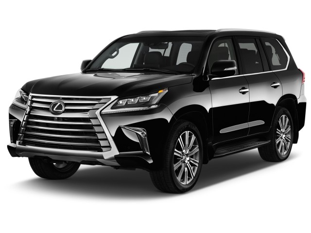 2017 Lexus LX LX  570 4WD Angular Front Exterior View