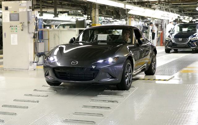 2017 Mazda MX-5 Miata RF start of production - October 5, 2016