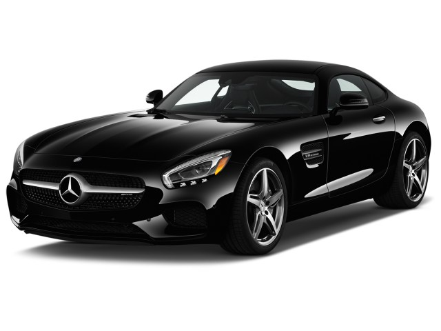 2017 Mercedes-Benz AMG GT AMG GT Coupe Angular Front Exterior View