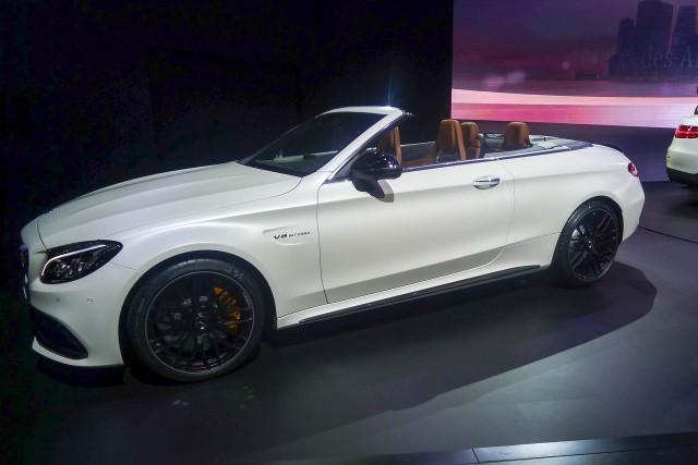 2017 Mercedes-AMG C63 Cabriolet, 2016 New York Auto Show