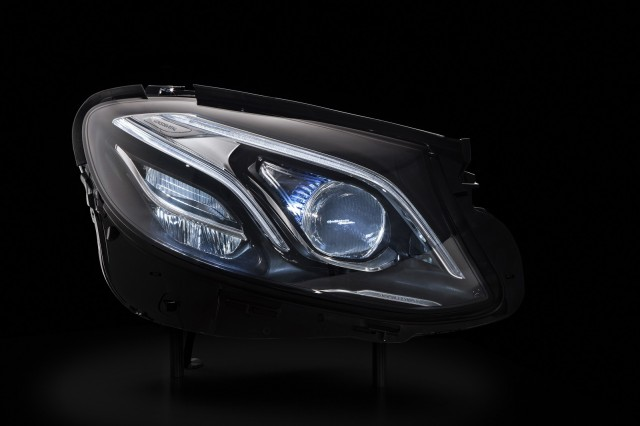 2017 Mercedes-Benz E-Classmultibeam LED headlight, Tech Day presentation, Germany, Jul 2015
