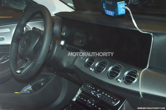 2017 Mercedes-Benz E-Class spy shots - Image via S. Baldauf/SB-Medien
