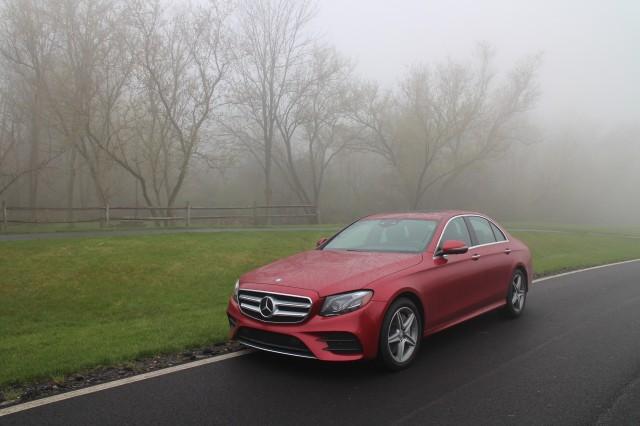 2017 Mercedes-Benz E300 4Matic, Finger Lakes region, NY, April 2017