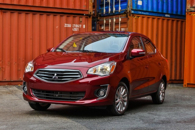 2017 Mitsubishi Mirage G4 sedan priced below $15,000