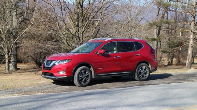 2017 Nissan Rogue Hybrid, Catskill Mountains, NY, Jan 2017