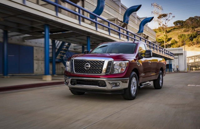 2017 nissan titan review ratings specs prices and. Black Bedroom Furniture Sets. Home Design Ideas