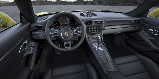 2017 porsche 911 turbo s - 911 Porsche Black