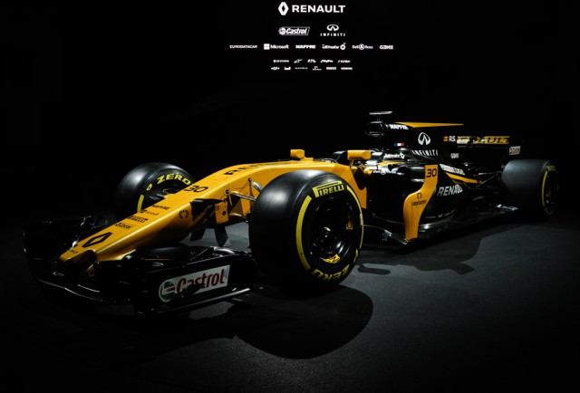 2017 Renault Sport R.S.17 Formula One race car