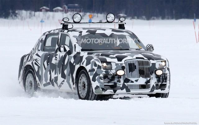 2017 Russian presidential limo (Kortezh) spy shots - Image via S. Baldauf/SB-Medien