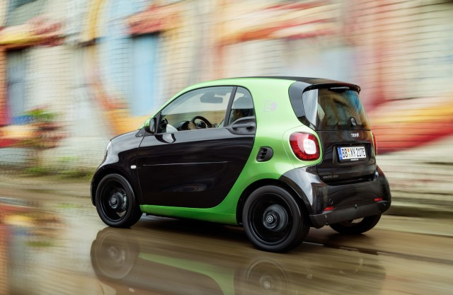 Smart drops engines; to be EV-only brand in the US