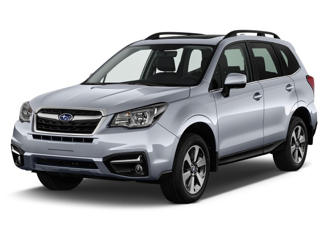 2017 Subaru Forester 2.5i Limited CVT Angular Front Exterior View