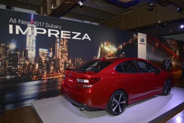 Redesigned 2017 Subaru Impreza Ticks Up $100, Keeps Five-Speed Manual
