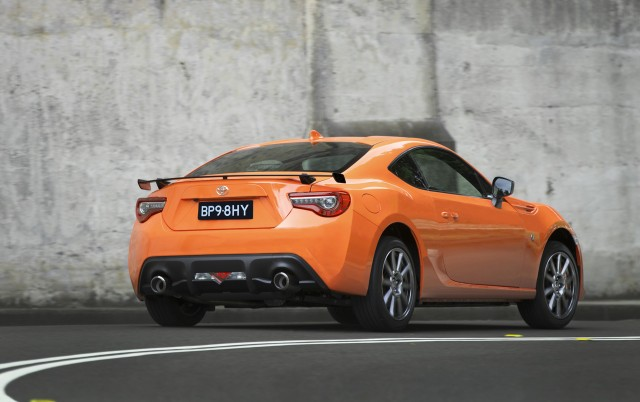 2017 Toyota 86 limited-edition model for Australia