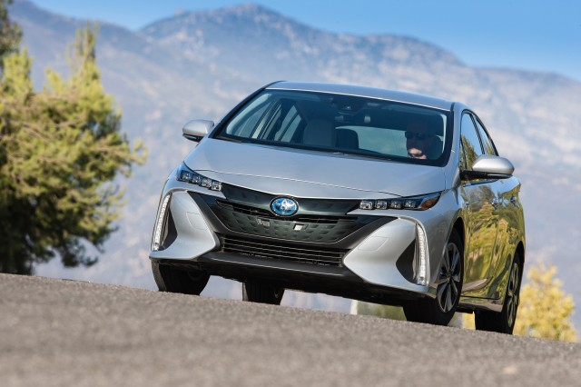 Prius Prime first drive Paris electric cars Bolt EV review
