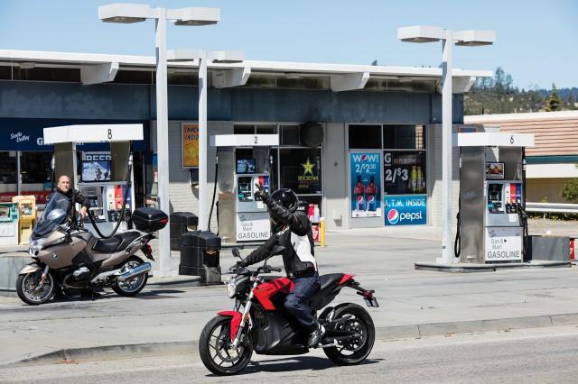 2017 Zero SR electric motorcycle
