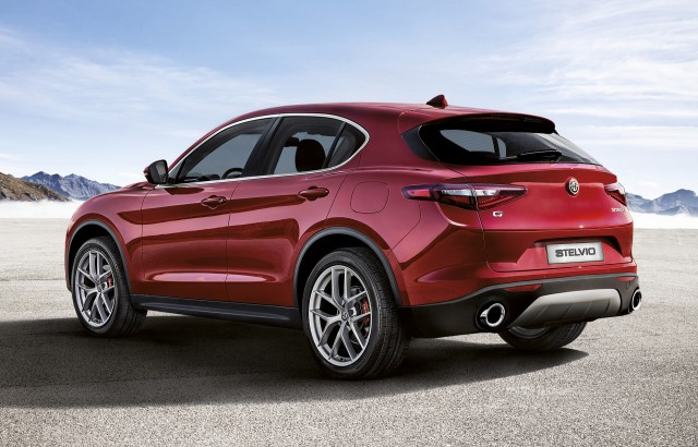 Alfa Romeo Says the Base Stelvio Hits 60 miles per hour in 5.4 Seconds