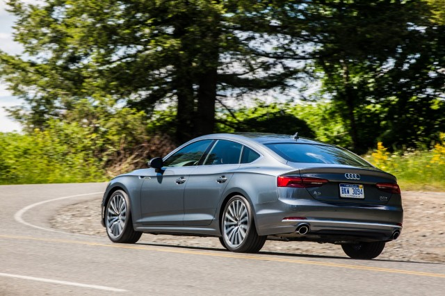 2018 Audi A5 S5 Sportback First Drive Review A Niche