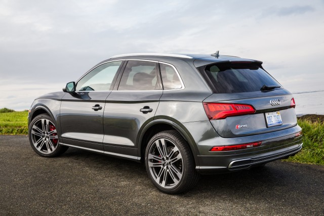 2018 Audi Sq5 First Drive Review Practicality With A Dash