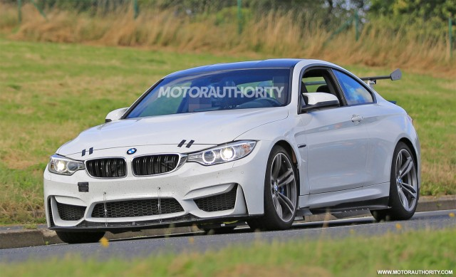2018 BMW M4 GT4 race car spy shots - Image via S. Baldauf/SB-Medien
