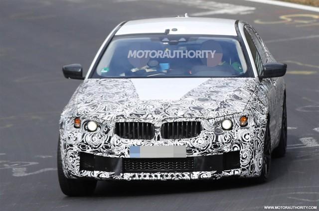 2018 BMW M5 spy shots - Image via S. Baldauf/SB-Medien