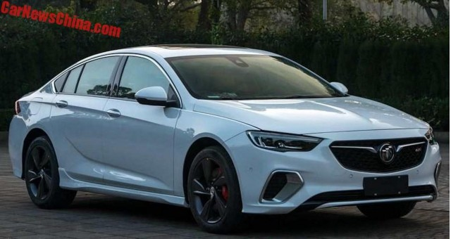 2017 Buick Grand National >> Chinese-spec Buick Regal GS images leak | Autozaurus