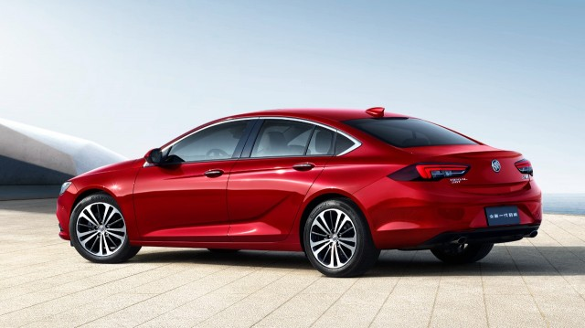 2018 Buick Regal sedan for China