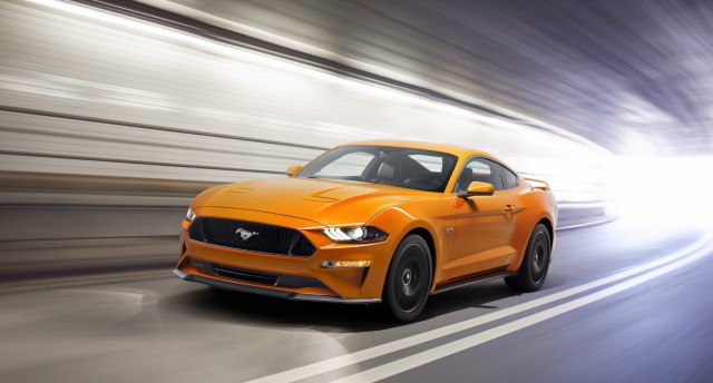 Updated 2018 Ford Mustang GT is Faster Than a Porsche 911 Carrera
