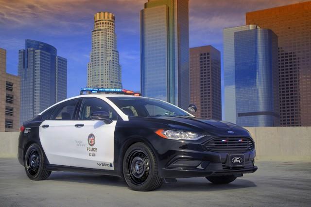 2018 Ford Police Responder Hybrid Sedan pursuit-rated police car