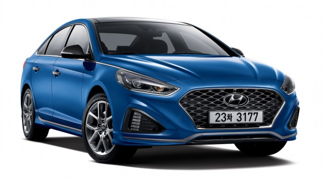 2018 hyundai sonata debuts in korea. Black Bedroom Furniture Sets. Home Design Ideas